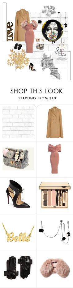 """""""Untitled #627"""" by xocolate ❤ liked on Polyvore featuring Tempaper, Alexander McQueen, Christian Louboutin, Flos, ASOS, Maison Fabre, Steffen Schraut and White Label"""