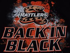 ARIZONA RATTLERS Arena Football T Shirt Back in Black XXL EUC #RussellAthletics #ArizonaRattlers