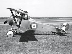 Billy Bishop's bi plane WW 1