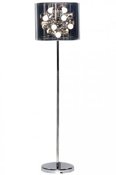 Starburst Floor Lamp - Floor Lamp - Modern Floor Lamp - Industrial Floor Lamp - Drum Lamp Shades | HomeDecorators.com