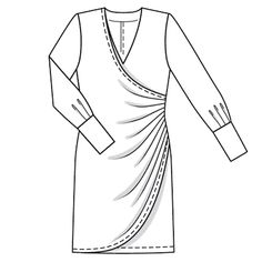 dress 120 (plate) - 05/2009 - ENVIE DE ROBES? Des robes à burdafashion.com