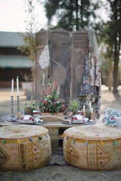 Boho Romance styled shoot #Bohemian #Romance #love Tribal Wedding, Safari Wedding, Gypsy Wedding, Wedding Designs, Wedding Styles, Wedding Ideas, Party Wedding, Wedding Planning, Bohemian Party