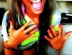 Loving the neon's!