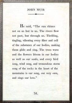 John Muir - Book Collection – Sugarboo & Co John Muir Books, John Muir Quotes, Quotes To Live By, Me Quotes, Qoutes, Love Book Quotes, Funny Quotes, Khalil Gibran Quotes, The Prophet Kahlil Gibran