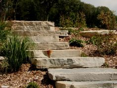 pavers at the bottom of stairs - Bing images