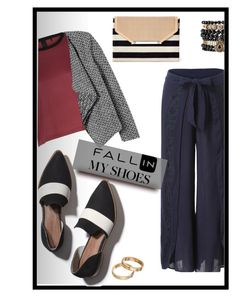 """""""Fall Loafers <3"""" by tanyaf1 ❤ liked on Polyvore featuring Matt Bernson, Stella & Dot, Rebecca Taylor, Apt. 9 and Samantha Wills"""