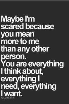 "Is it funny that I read ""maybe I'm scared because you're mean to me more than any other person..."" LOLOLOL"