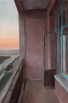 Kenny Harris (b. 1974, Palo Alto, CA, USA)  Balcony, Beijing, 2011
