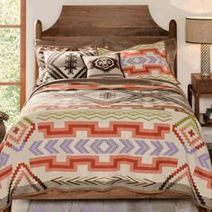 great website for rustic bedding decor