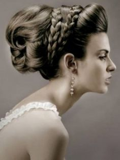 grecian hair-do