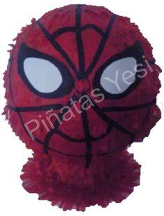 Piñata Mexicana Artesanal de Spiderman tipo balon