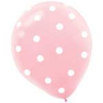 1st Birthday Girl 30cm Latex Balloon | BIG W