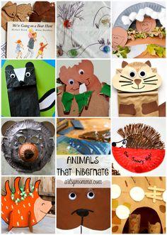 Preschool Theme: Animals That Hibernate