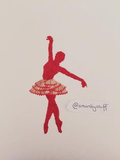 Ballerina made purely from pencil shavings. By smarttyystuff