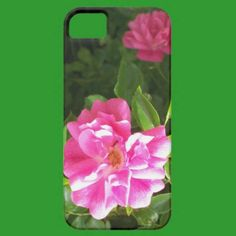 iPhone 5 Barely There Case, Bright Pink Roses