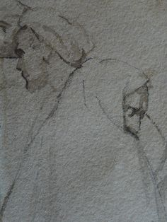 CHASSERIAU Théodore,1846 - Arabe barbu et autres Figures - drawing - Détail 28