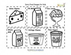 Free Pre-school worksheets, like: Cut and Paste Fruits and