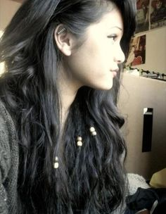Sneaky undercover dreads :)