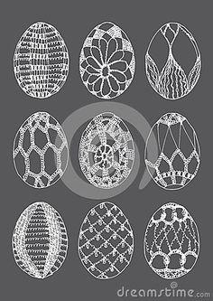 Schemi uova uncinetto per decorazioni pasquali for Lavori all uncinetto per pasqua