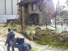 Belgian village diorama ww2 ( scale 1:35 )