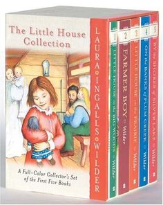 The Little House Collection Box Set (Full Color) by Laura Ingalls Wilder. $24.45. Author: Laura Ingalls Wilder. Series - Little House. Publication: October 12, 2004. Publisher: HarperCollins (October 12, 2004). Reading level: Ages 8 and up