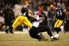 Troy Polamalu Photo - AFC Championship: Baltimore Ravens v Pittsburgh Steelers