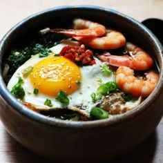 Shrimp & Kale Udon, sounds like a yummy combo