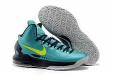 online store 87194 e1136 Wholesale Cheap 554988 300 Nike Zoom KD V Jade Black Grey Basketball Shoes  Store