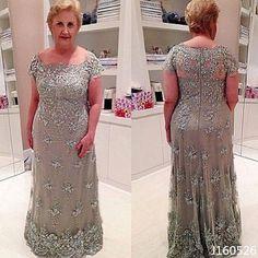 Plus Size Vintage Mãe Da Noiva, Vestidos De Renda, vestidos de Festa Noite Formal