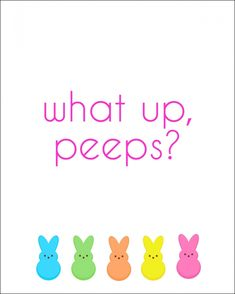 Free Peeps Easter Printable from Endlessly Inspired