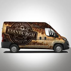 Design a show stopping Van Wrap for Edinburgh Tea and Coffee Co. Design by Konstantin Graphics
