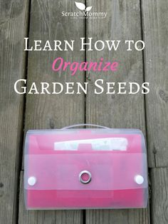 Learn how to organiz