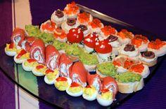 www.mimibazar.cz Aubergine Mozzarella, Sushi, Ethnic Recipes, Magic, Food, Essen, Meals, Yemek, Eten