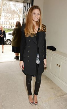 Olivia Palermo at an event in London. See all of the model's best looks.