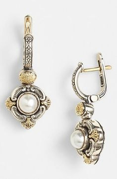 Konstantino 'Hermione' Pearl Drop Earrings available at #Nordstrom