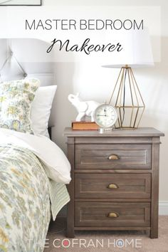 Master Bedroom Makeover - The Cofran Home