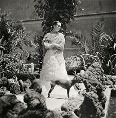 German-born French photographer Gisle Freund (1908-2000) offers a rare look at Frida Kahlo in intimate snapshots taken of the celebrated artist during some