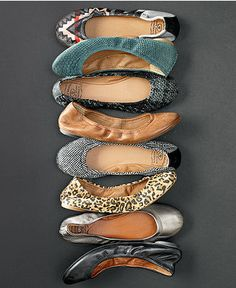 Lucky Brand Emmie Flats - Flats - Shoes - Macy's - My favorite flats! Comfy Shoes, Comfortable Shoes, Boogie Shoes, Big Girl Clothes, Lucky Brand Flats, Red Flats, White Flats, Flat Shoes, Women's Shoes