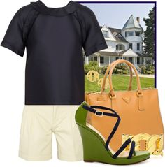 """""""Summering in Connecticut"""" by ssquared on Polyvore"""
