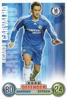 2007-08 Topps Premier League Match Attax #83 Ricardo Carvalho Front