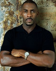 Idris Elba.....Lord above , that's a fine Black Man right there , mmh hum .