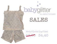 Και σορτσάκι και μπλουζάκι!    http://babyglitter.gr/2298-mployza-kai-sortsaki.html