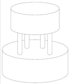cake templates templates free and round cakes on pinterest. Black Bedroom Furniture Sets. Home Design Ideas