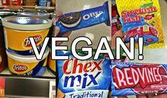 Accidentally Vegan Food List