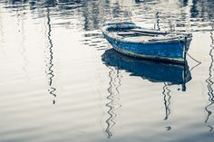 Anchored fishing boat by Dimitris Michalopoulos on 500px