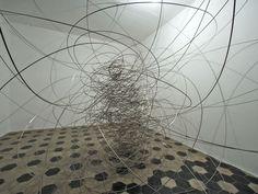 feeling material XIII [2004] by antony gormley