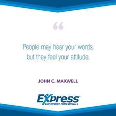 Express Quote of the Week!