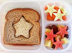 Healthy and fun ideas for kids children's lunch - lunch box - packed lunch
