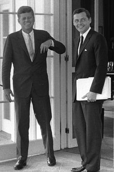Stephen Smith with President Kennedy at the White House.