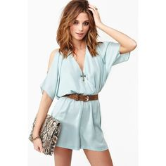 Air Wave Romper by None, via Polyvore